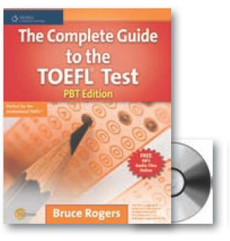 Rogers bruce. The complete guide to the toefl test: pbt edition.